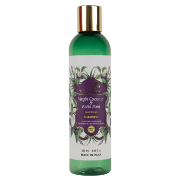 Virgin Coconut & Ratki Rani Shampoo