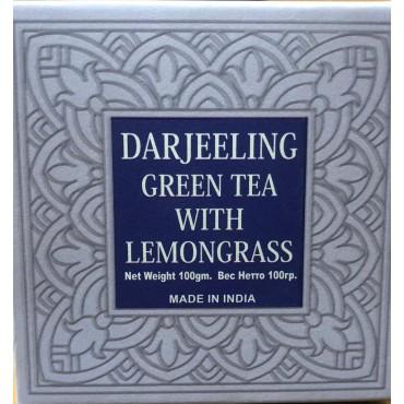 Darjeeling Green Long Leaf Tea With Lemongrass