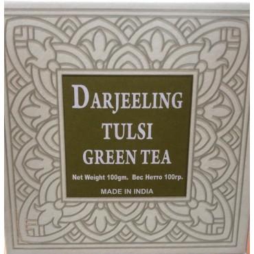 Darjeeling Green Long Leaf Tea With Tulsi